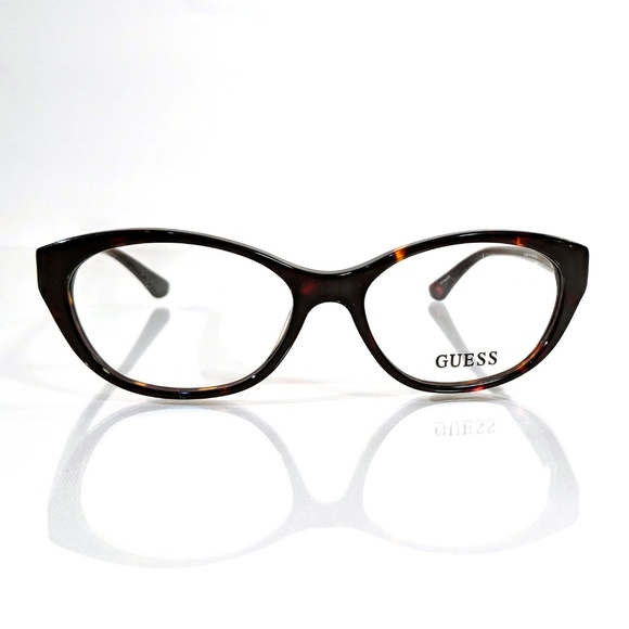 735e4a3e9b GUESS 2468 Tortoise Shell Brown Eyeglasses. Boutique